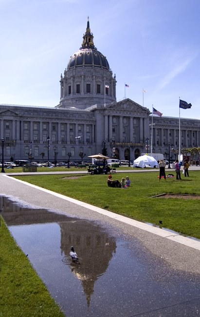 City Hall Reflection, Сан-Франциско