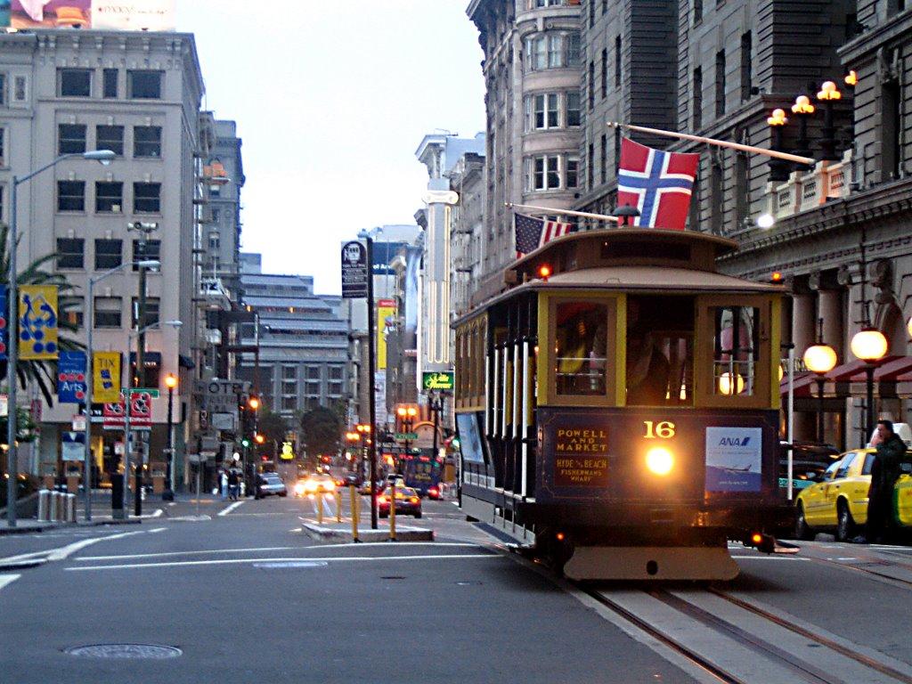 Powell st.-Union square, Сан-Франциско