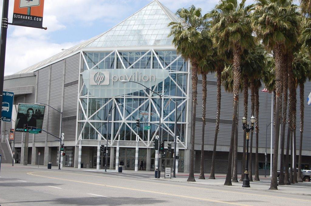 HP Pavilion, San Jose, CA, Сан-Хосе