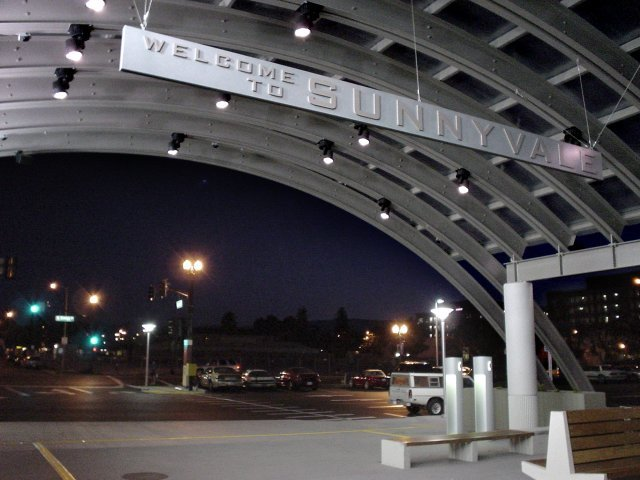 Sunnyvale Caltrain Station, Саннивейл