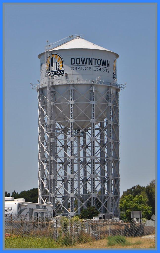 Watertower @ Santa Ana  California, Санта-Ана