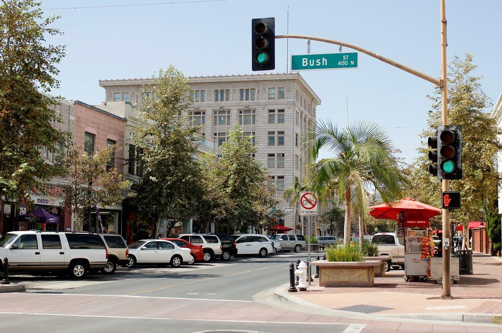 Old Downtown Santa Ana, Ca, Санта-Ана