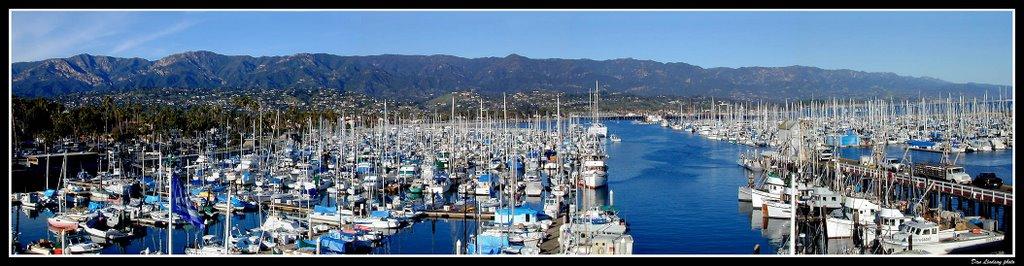 Santa Barbara Habour, CA, Санта-Барбара