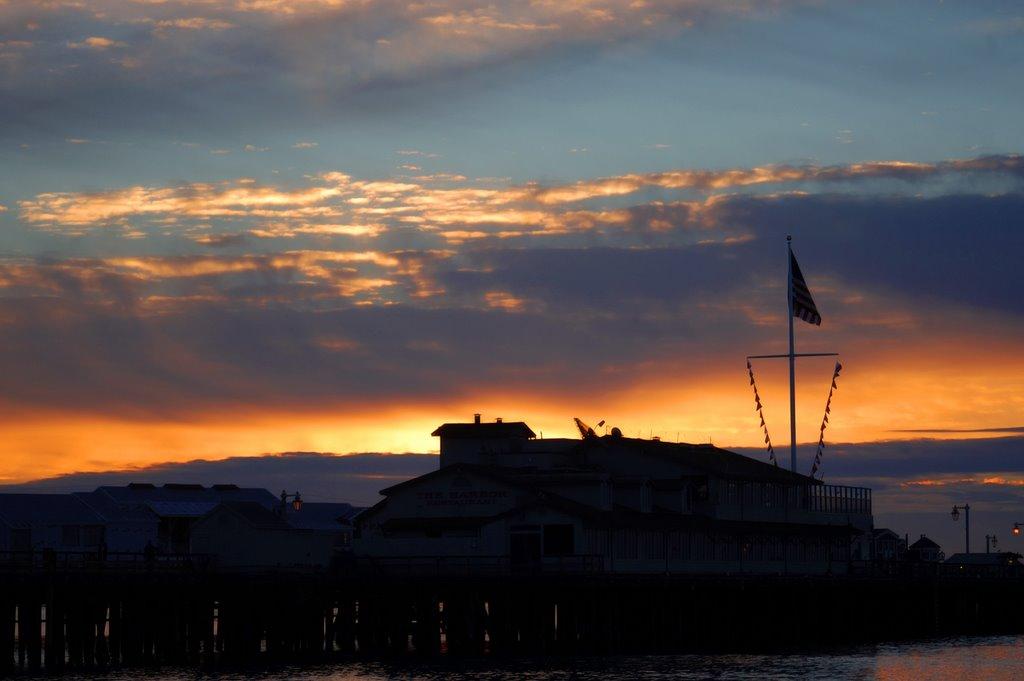 Stearns Wharf, Санта-Барбара
