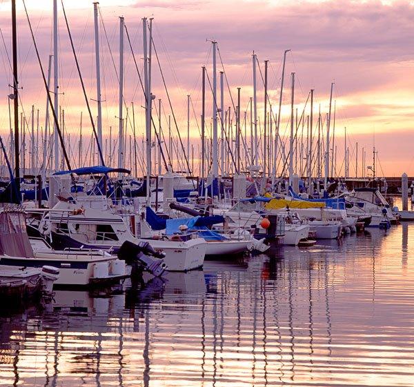 Santa Barbara Harbor Sunrise, Санта-Барбара