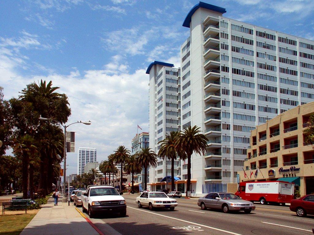 Los Angeles - Usa - Santa Monica, Ocean Avenue, Санта-Моника