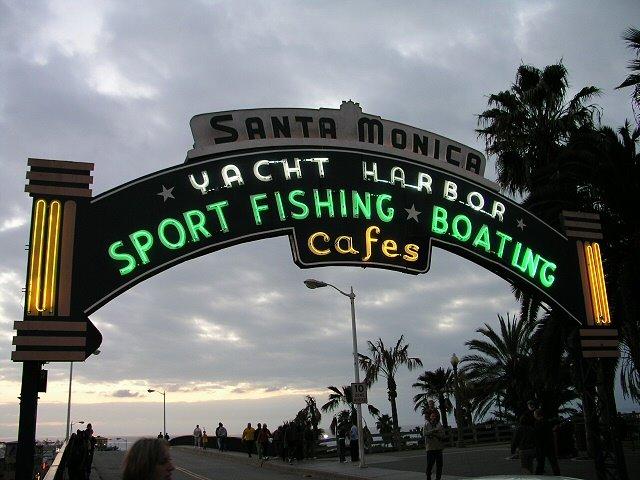 Santa Monica Yacht Harbour, Санта-Моника
