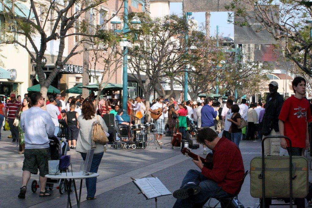 3rd. st. Promenad,Santa Monica, Ca., Санта-Моника