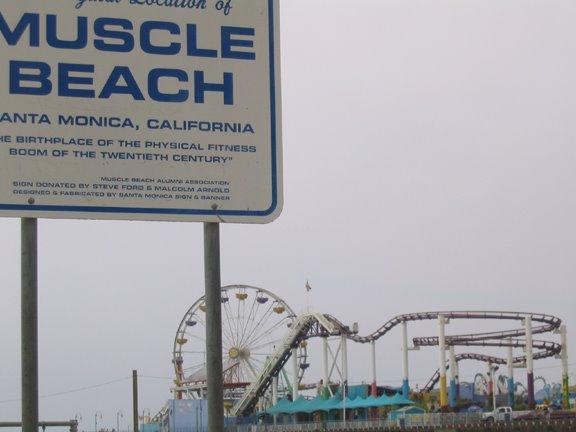 Muscle Beach, Санта-Моника