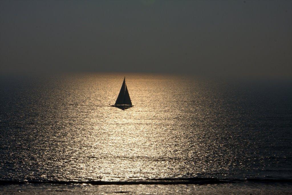 Pacific Ocean. Santa Monica, LA, Ca., Санта-Моника