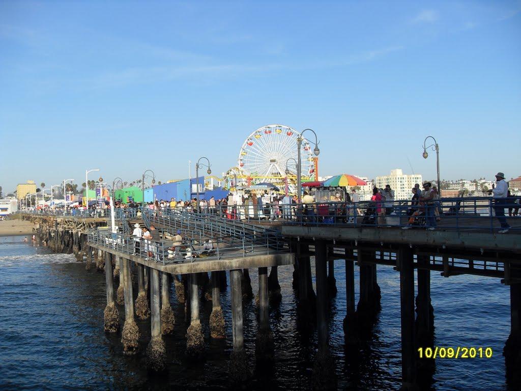 Santa Monica Pier, Los Angeles, Санта-Моника