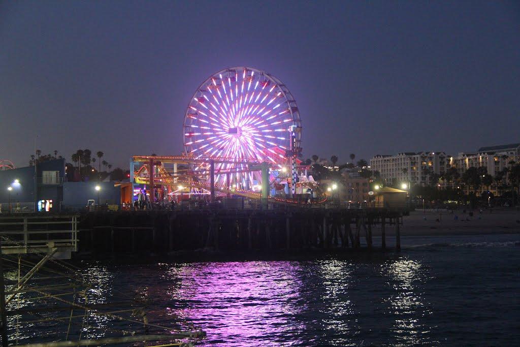 Santa Monica YACHT Harbor, Санта-Моника