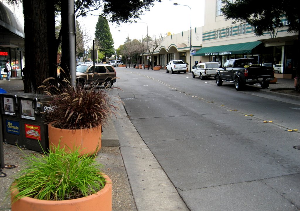 4th and D Streets, Santa Rosa (looking NE), Санта-Роза