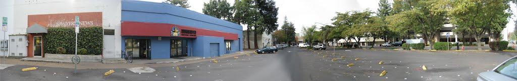 5th Street parking lot, Santa Rosa, Санта-Роза