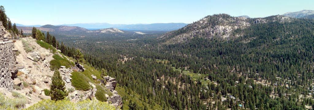 Panorama USA Lake Tahoe, Саут-Лейк-Тахо