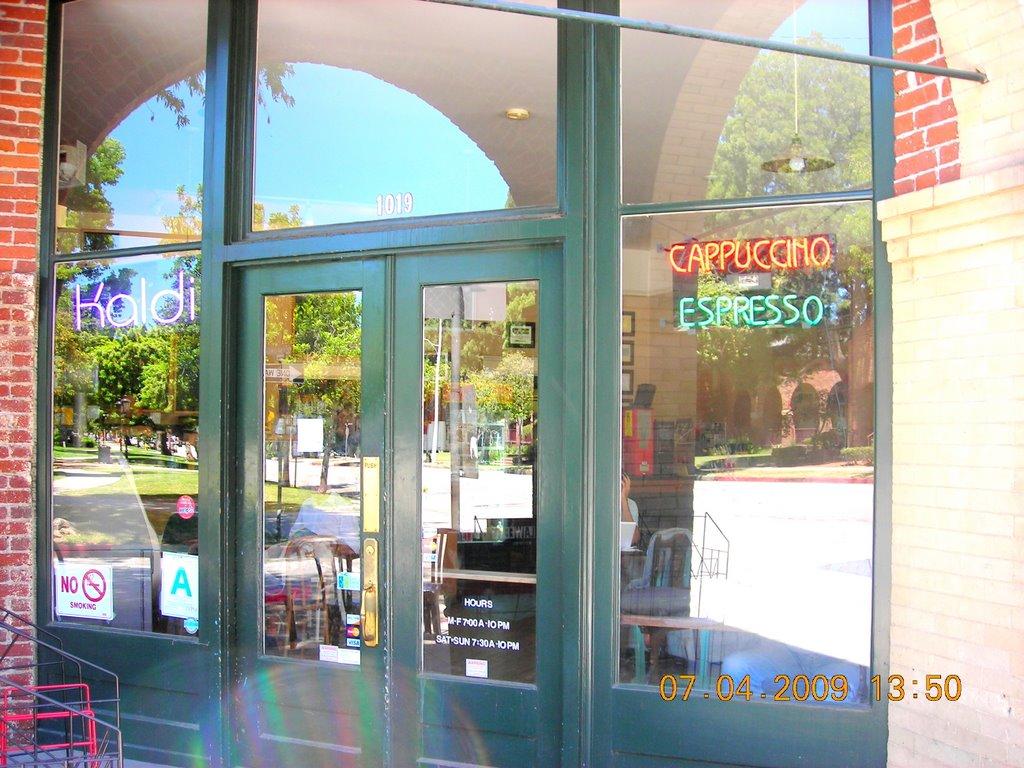 Kaldi Coffee & Tea - South Pasadena, California USA, Саут-Пасадена