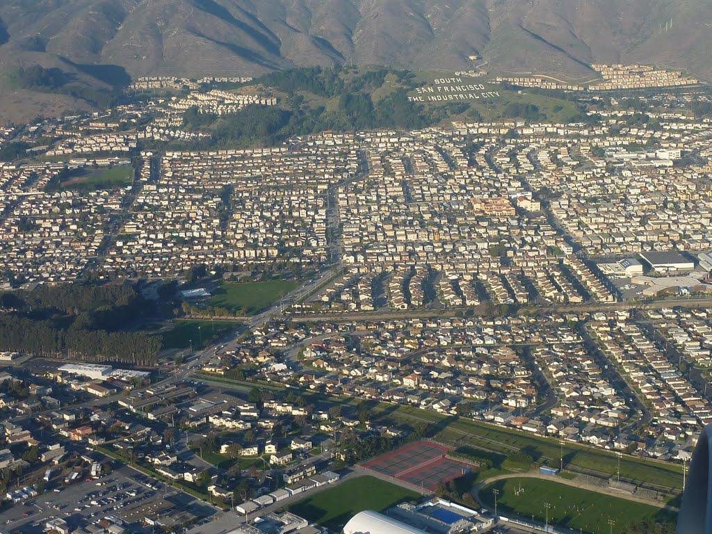 San Francisco au fond paradise valley park, Саут-Сан-Франциско