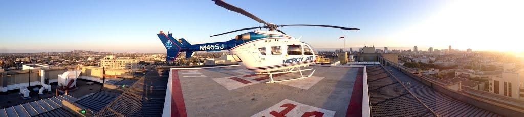 St. Mary Medical Center Long Beach Heliport (50CA), Сигнал-Хилл