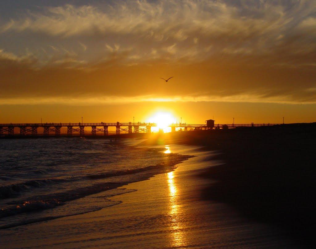 Summer sunset, Сил-Бич