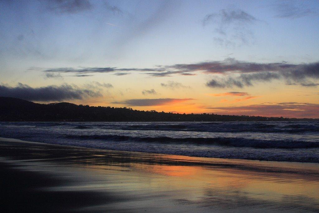 Sunset in Monterey, Сисайд