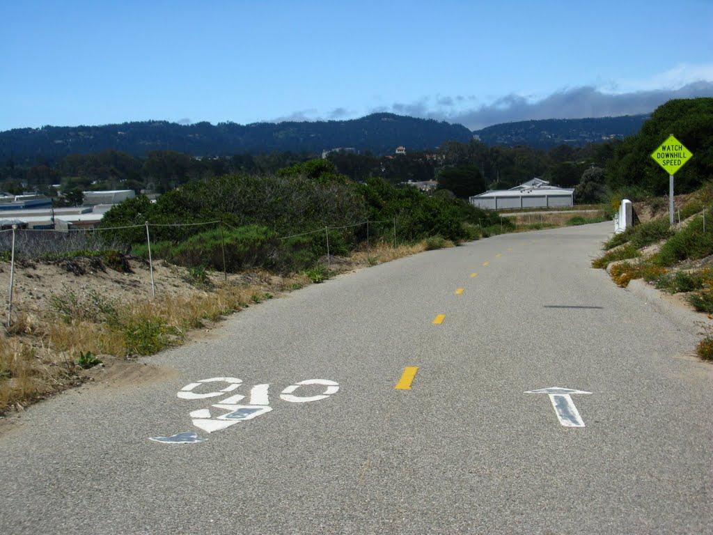 Pacific Grove Bike Trail, Сисайд