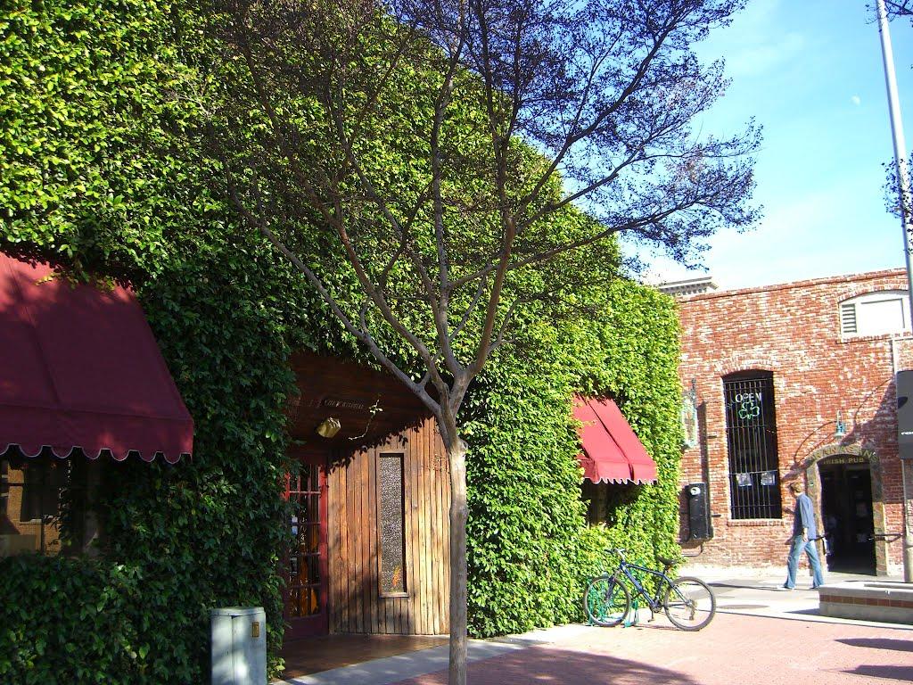 Behind Mulberry Street Ristorante, Фуллертон