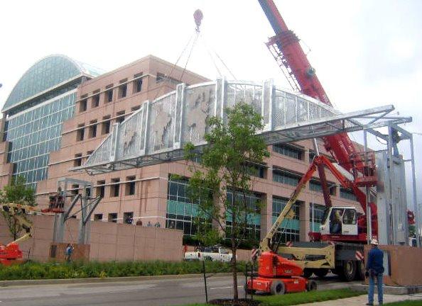 Gateway to KCKS Installation & EPA building, Винфилд