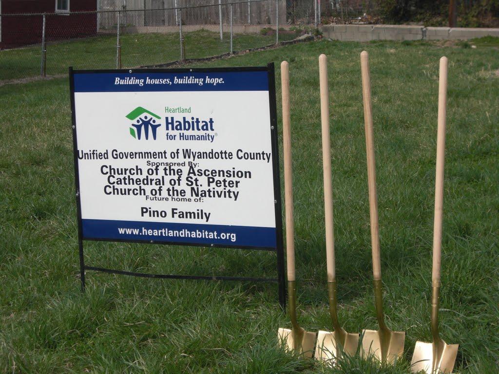 Habitat for Humanity Ground Breaking, Винфилд