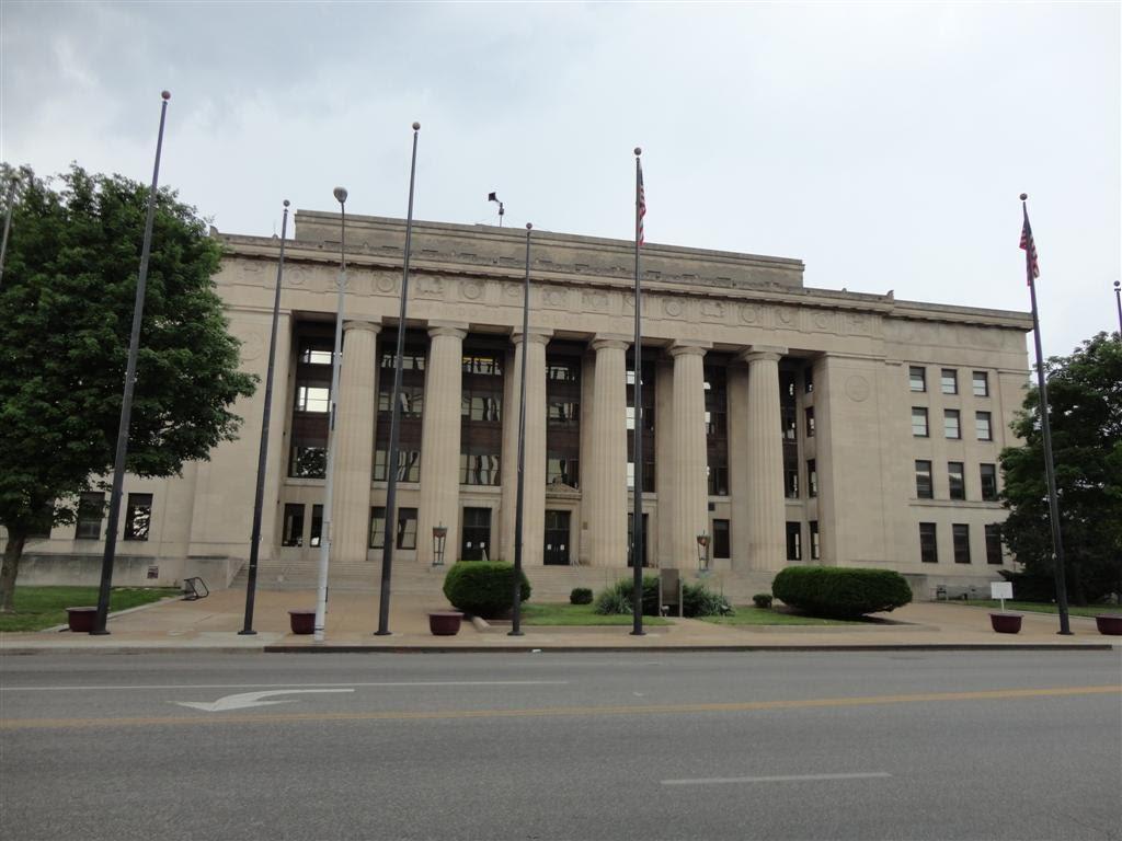 Wyandotte County Court house, Kansas City, KS, Винфилд