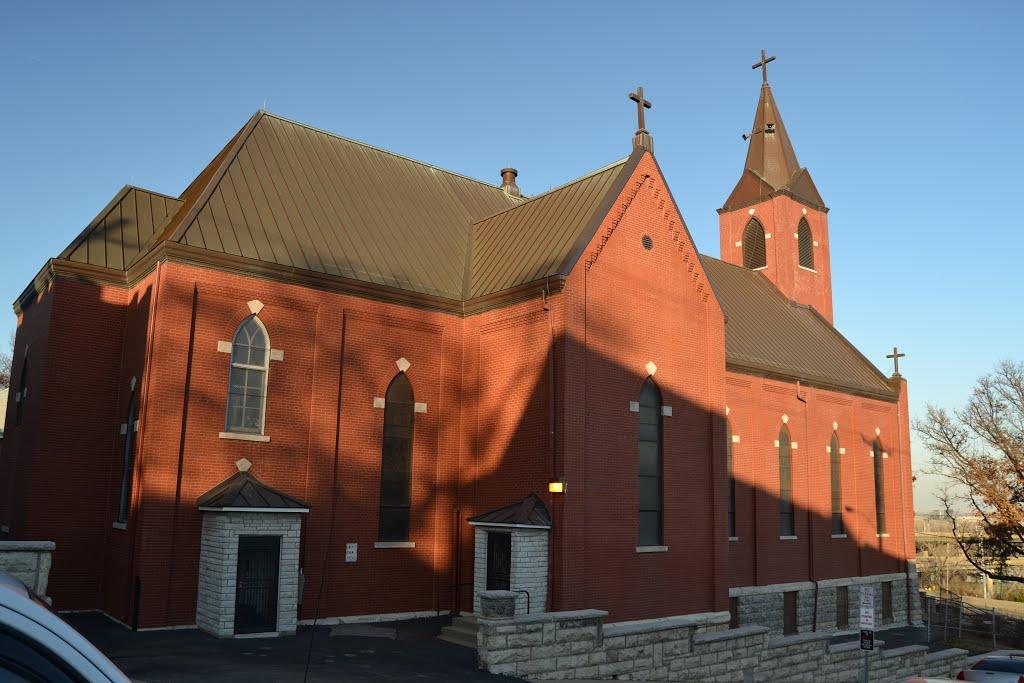 St. John the Baptist Church, KCKS, Винфилд