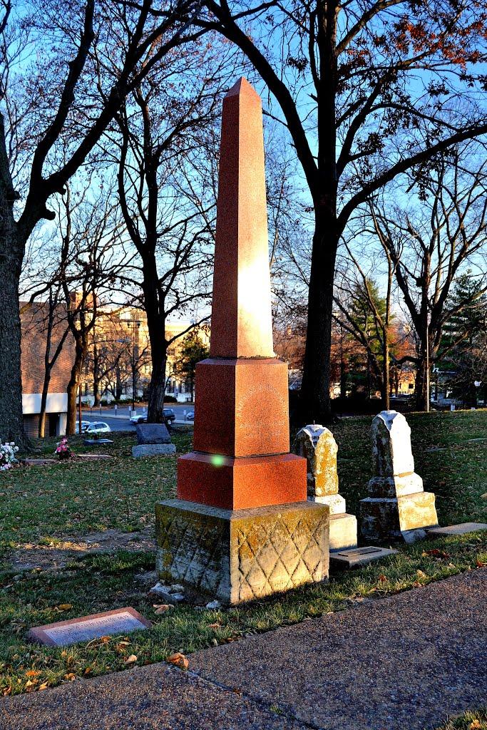 Huron Indian Cemetery, KCKS, Оакли