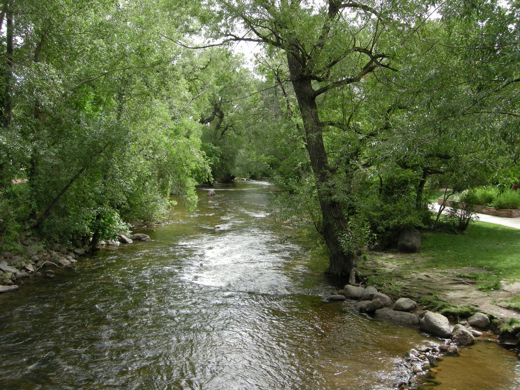 the creek in UC, Аурора