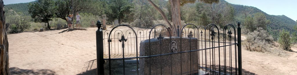 Doc Holidays Grave - Pioneer Cemetery - Glenwood Springs, CO, Гленвуд-Спрингс