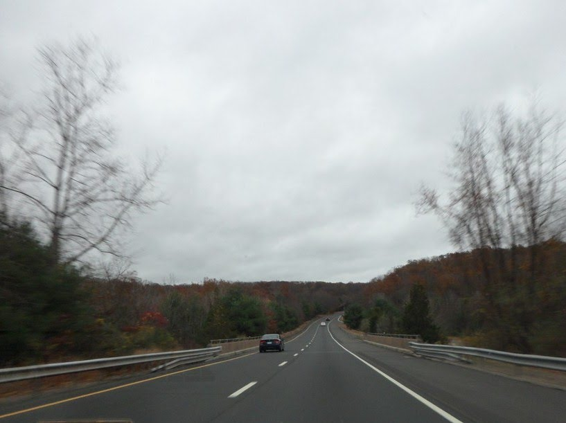 I-91 north, CT, Нью-Бритайн