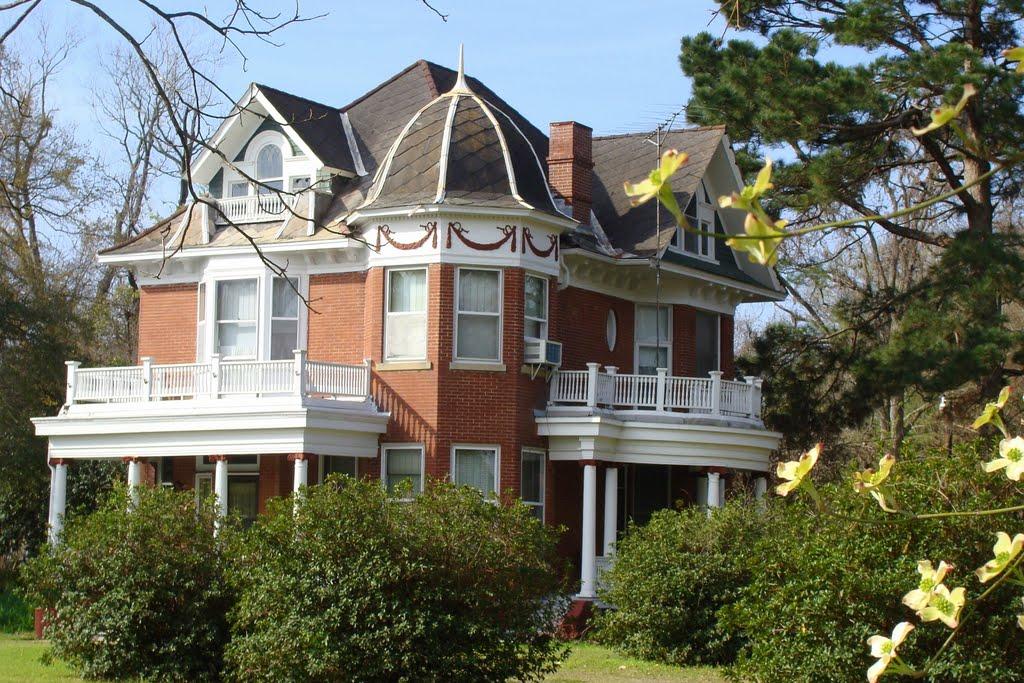 1904 Cook Home, Alexandria, Louisiana, Александрия