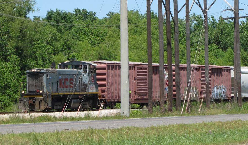 Kansas City Southern switch engine, Бейкер
