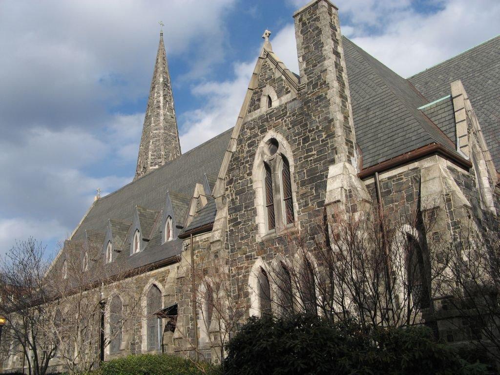 Cambridge church - April 2007, Кембридж