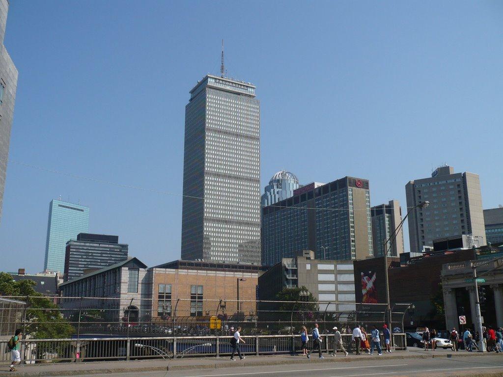 Boston - Prudential Tower, Кембридж