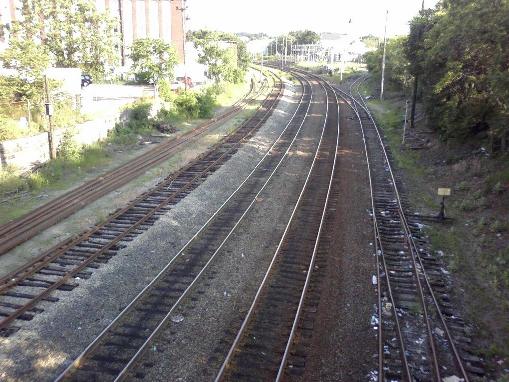 Haverhill Train Line S. Lawrence, Лоуренс