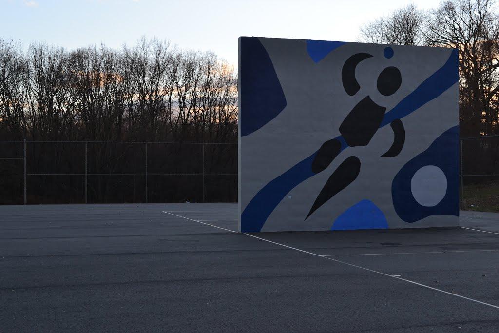 Tennis Mural, Лоуренс