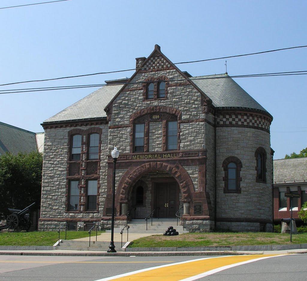 Milford Memorial Hall, 1884, Метуэн