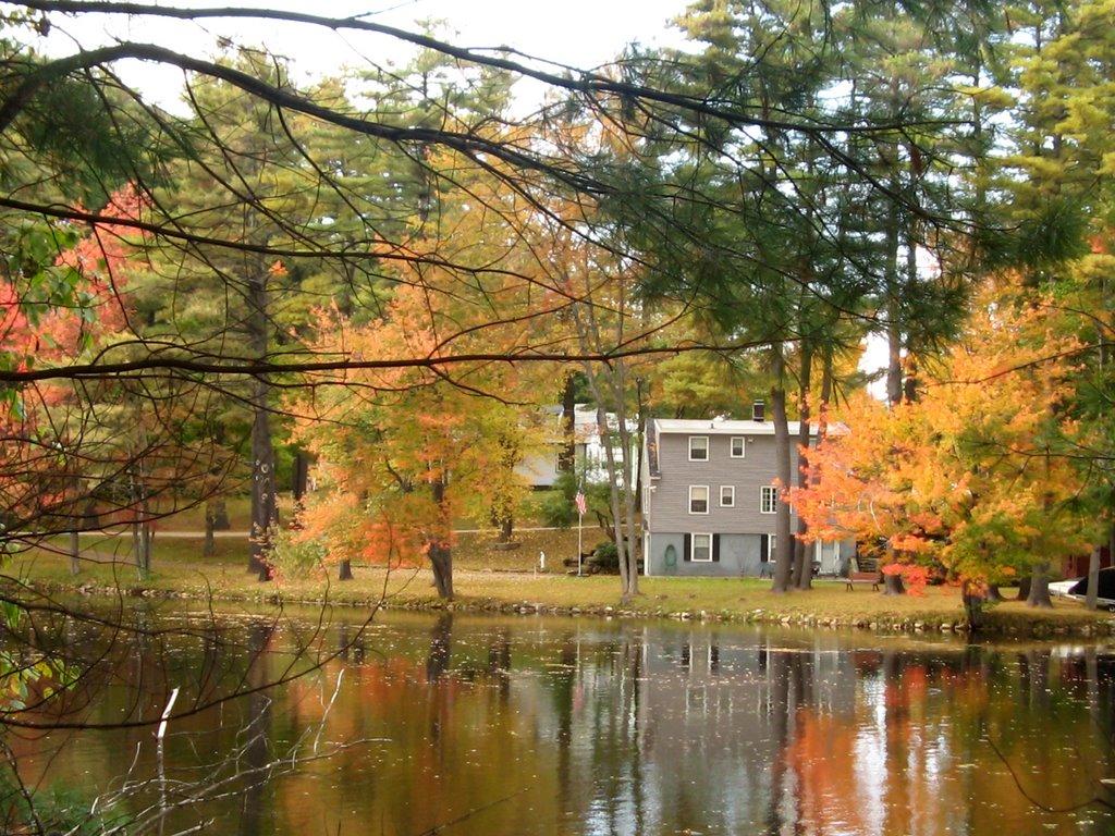 Lake at Howard Memorial Park Massechusetts, Натик