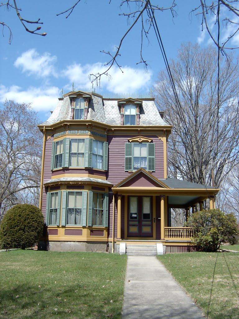 Victorian house, Natick, Натик