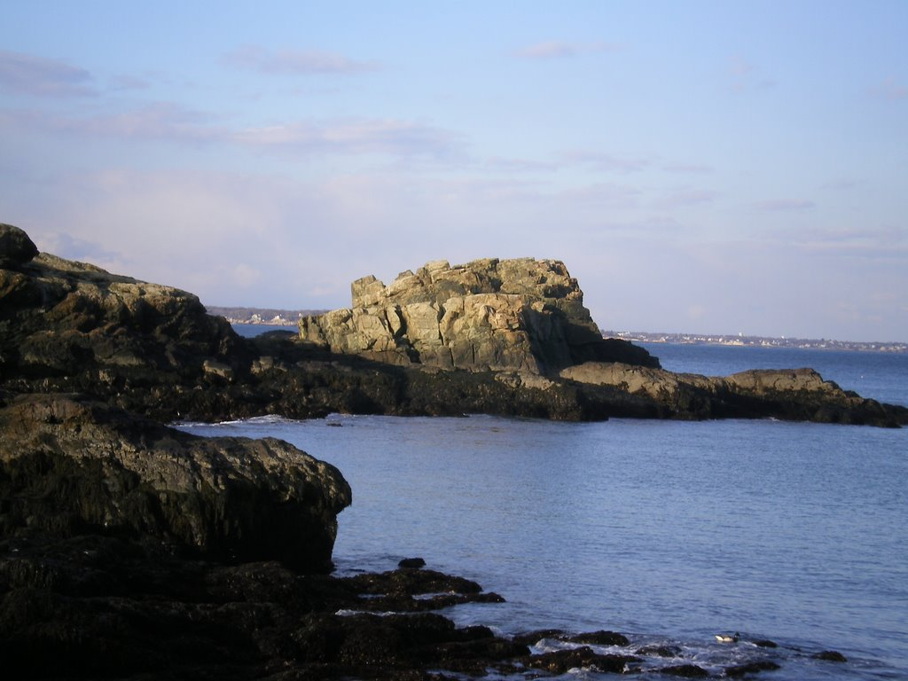 View of Castle Rock, Нахант