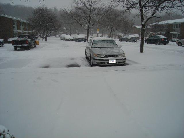 winter day, Фрамингам
