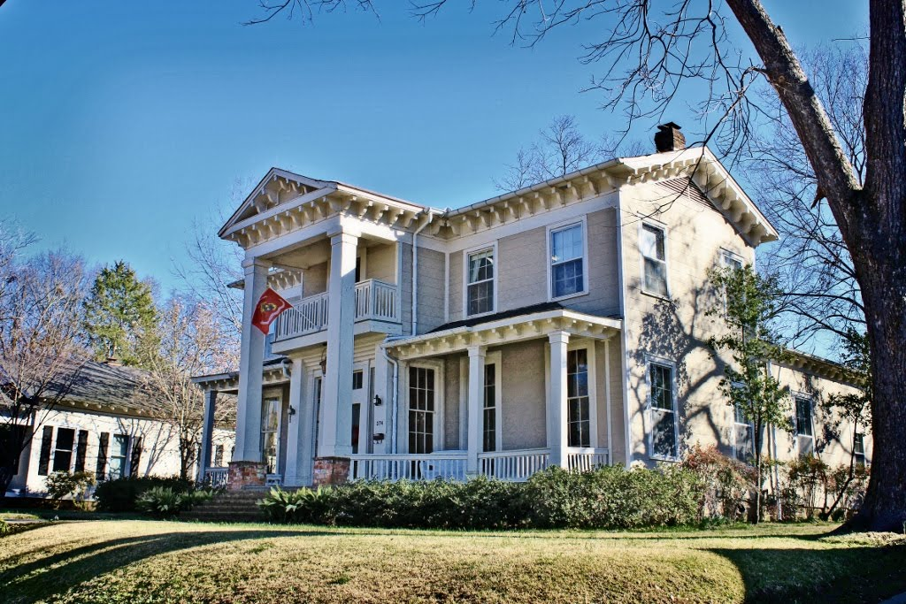 McWillie-Singleton House - Built 1860, МкКул