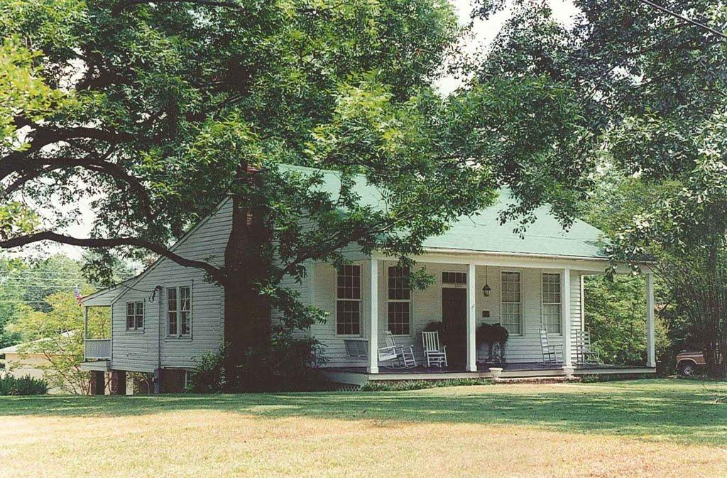 antebellum house, Brandon Miss (8-6-2000), Окин Спрингс