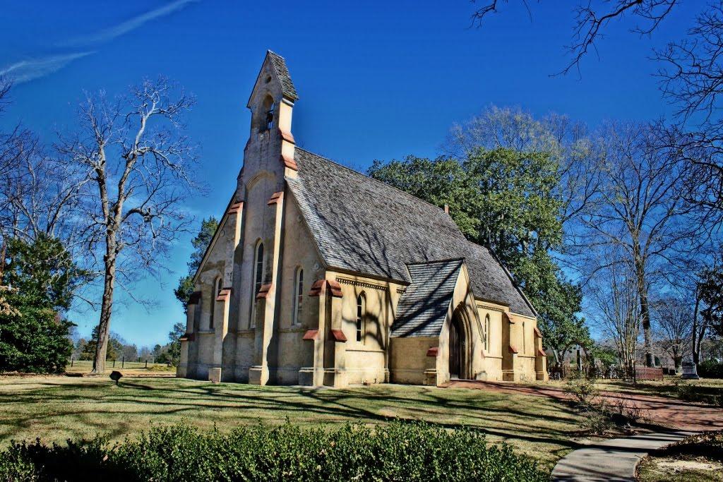 Chapel of the Cross - Built 1850, Тилертаун