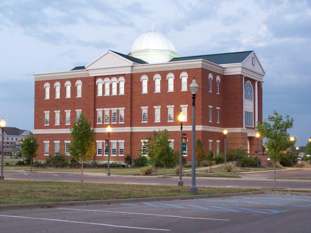 Tupelo City Hall - downtown, Тупело