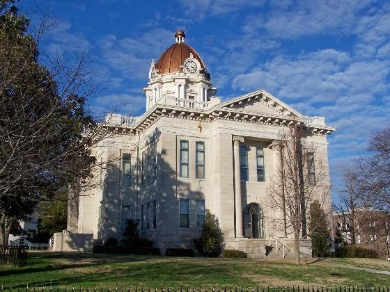 Lee County Courthouse, Tupelo, Mississippi, Тупело